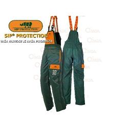 Gozdarske hlače z zaščito-S-velikost,nepremočljive,R1