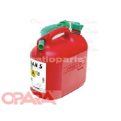 Ročka za gorivo 5L-rdeča