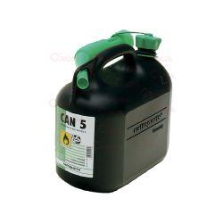 Ročka za gorivo 5L črna
