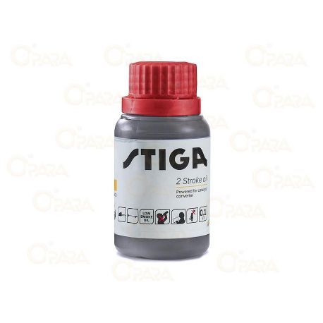 2T Olje 2% mix SYNT Stiga 0,1L z aditivom za trajnost goriva