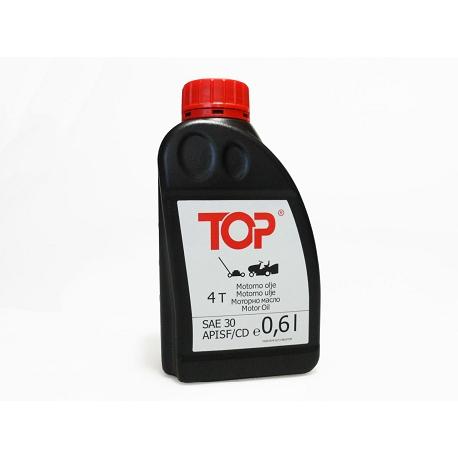 TOP 4T Olje SAE 30- 0,6L za kosilnice, traktorje